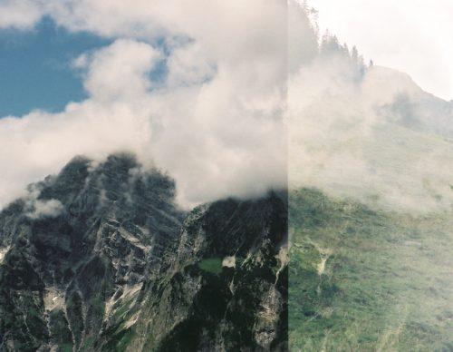 Aufnahmen der Alpen